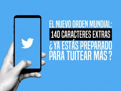 Twitter abre paso a 280 caracteres por tweet