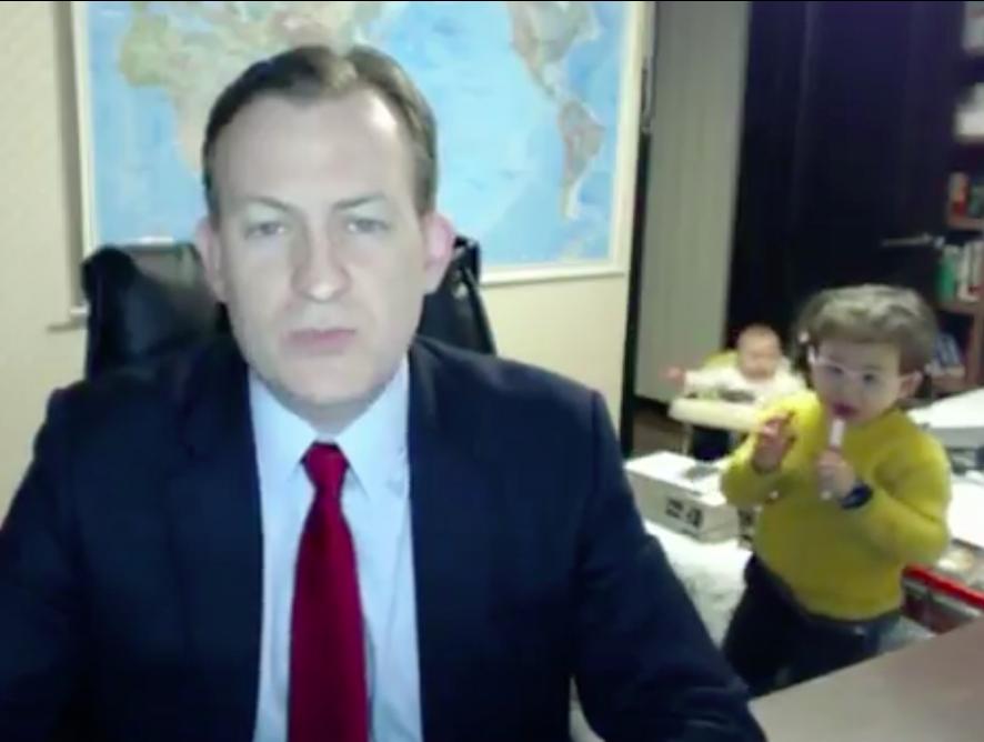 Las 5 Interrupciones de niños más famosas y graciosas de la web