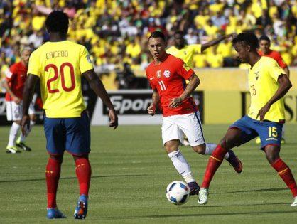 Ecuador vs Chile para clasificar al mundial 2018