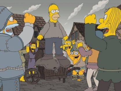 'Los Simpson' estrena su temporada 29 con una parodia a 'Game of Thrones'