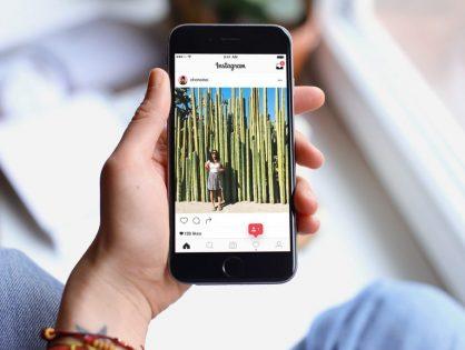 Error del formato de navegación en Instagram
