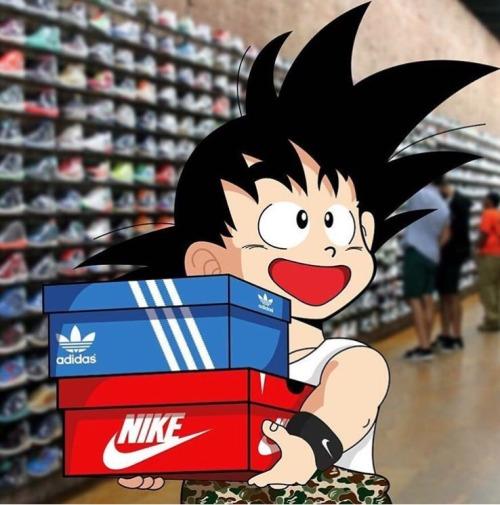 Operación posible desbloquear Organo  Adidas se inspira en 'Dragon Ball' en sus nuevos zapatos