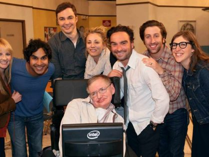 'The Big Bang Theory' se despide de Stephen Hawking