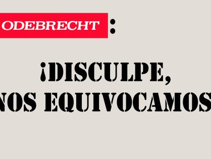 Odebrecht se disculpa con Ecuador