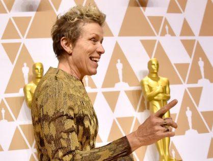 Le roban el Oscar a Frances McDormand, y además, cuatro actores que literalmente lo han perdido