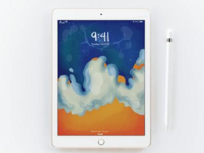 Nuevo iPad con soporte para Apple Pencil