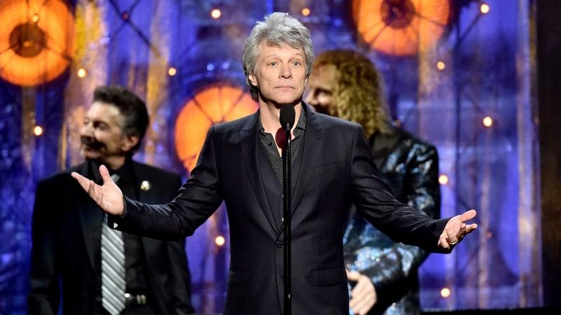 Bon Jovi entra al Salón de la Fama del Rock & Roll