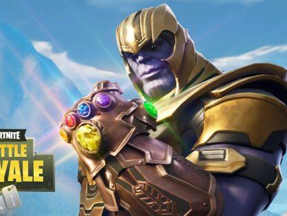 Avengers: Thanos llega hoy a Fortnite