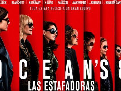 'Ocean's 8' lidera la taquilla estadounidense