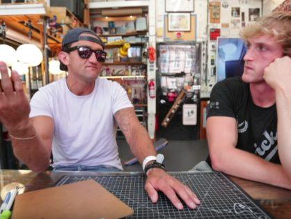 Casey Neistat entrevista a Logan Paul