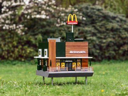 McDonald's abre un restaurante para abejas