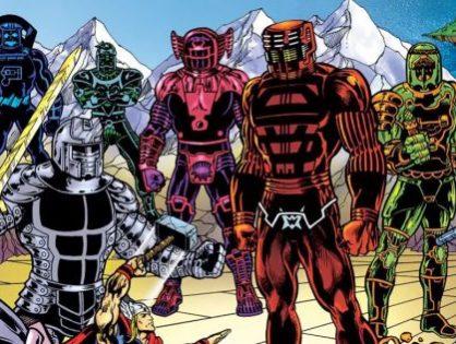 Más detalles de 'The Eternals', los héroes de la próxima película de Marvel