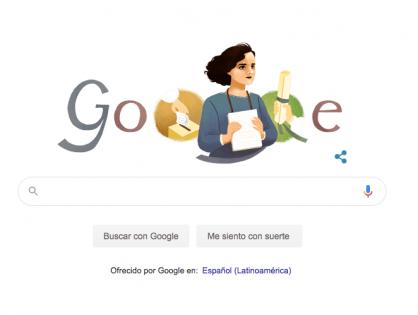 Matilde Hidalgo de Prócel en Google