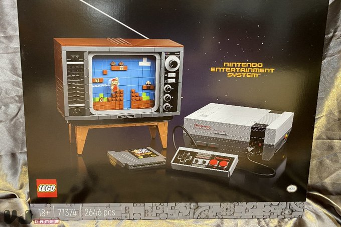 Lego ahora te permite construir tu propia consola NES de Nintendo